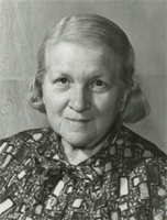 Rózsa Péter who developed much of recursive function theory